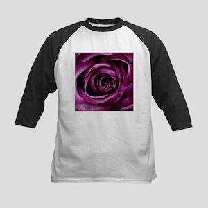 Purple Rose Baseball Jersey