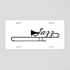 Jazz Aluminum License Plate