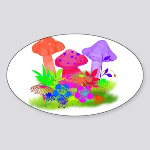 Magic Mushroom Sticker