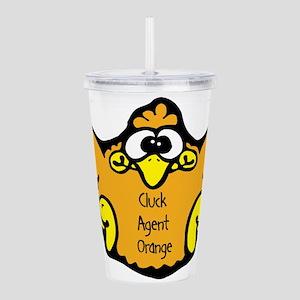 cluck-agent-orange Acrylic Double-wall Tumbler