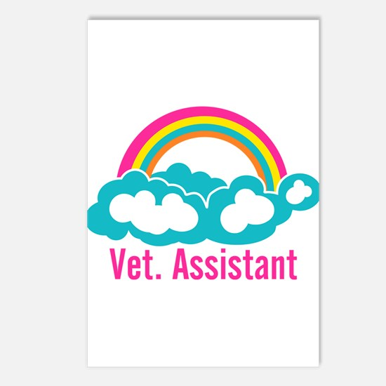 Rainbow Veterinary Assist Postcards (Package of 8)