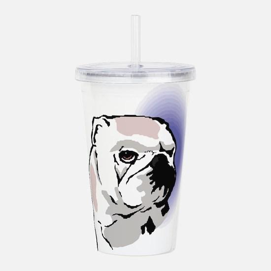 english-bulldog6.png Acrylic Double-wall Tumbler