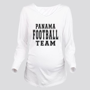 Panama Football Team Long Sleeve Maternity T-Shirt