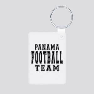 Panama Football Team Aluminum Photo Keychain
