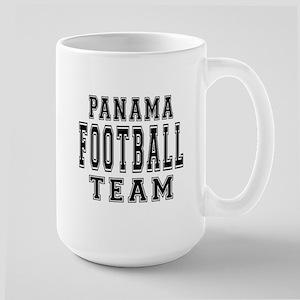 Panama Football Team Large Mug