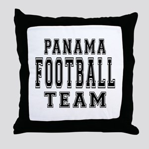 Panama Football Team Throw Pillow