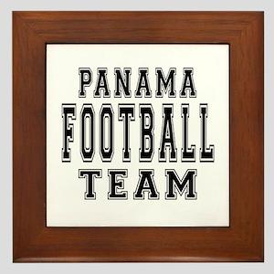 Panama Football Team Framed Tile