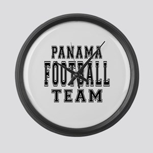 Panama Football Team Large Wall Clock