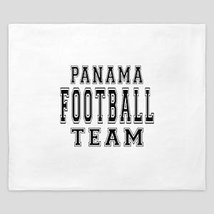 Panama Football Team King Duvet