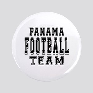 "Panama Football Team 3.5"" Button"