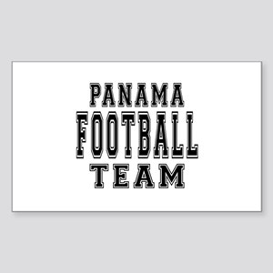 Panama Football Team Sticker (Rectangle)