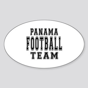Panama Football Team Sticker (Oval)