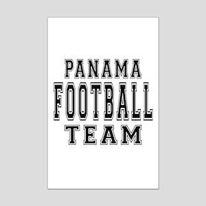 Panama Football Team Mini Poster Print