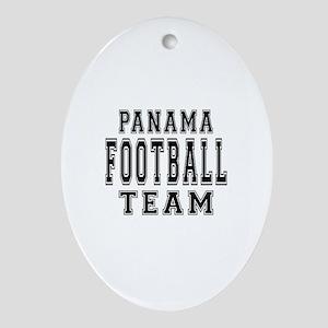 Panama Football Team Ornament (Oval)