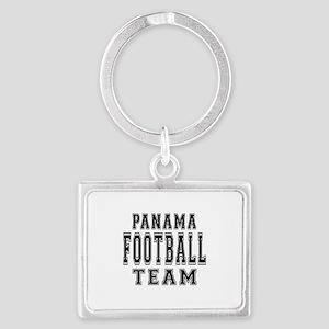 Panama Football Team Landscape Keychain