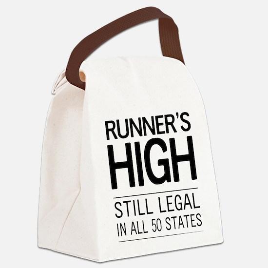 Runners high still legal Canvas Lunch Bag