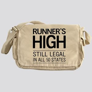 Runners high still legal Messenger Bag