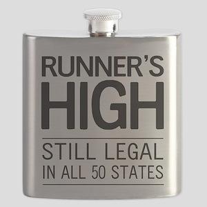 Runners high still legal Flask