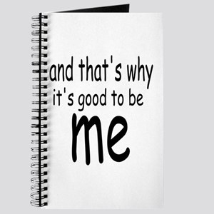 Good to be me Journal