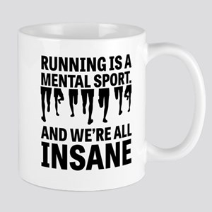 Running is a mental sport Mugs