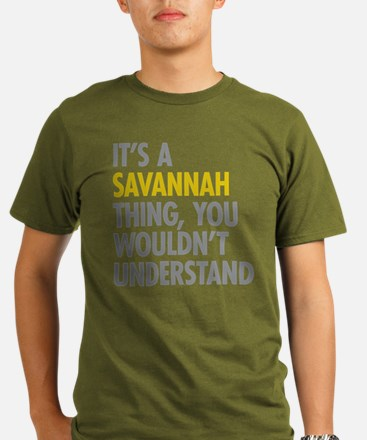 Its A Savannah Thing Organic Men's T-Shirt (dark)