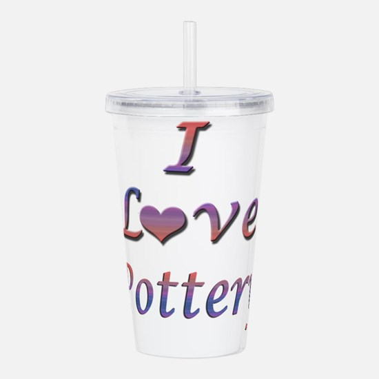 pottery.png Acrylic Double-wall Tumbler