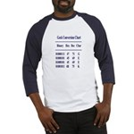 Ultimate Geek Navy Design Baseball Jersey