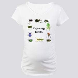 Entomology Rocks Maternity T-Shirt