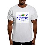 Geek Beanie Logo Image Ash Grey T-Shirt