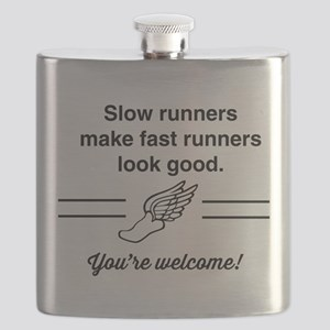 Slow runners make fast look good Flask