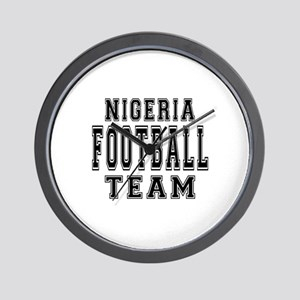 Nigeria Football Team Wall Clock