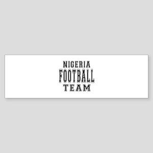 Nigeria Football Team Sticker (Bumper)