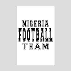 Nigeria Football Team Mini Poster Print