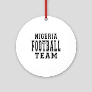 Nigeria Football Team Ornament (Round)