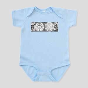 Hermetic Magic Diagram Infant Bodysuit