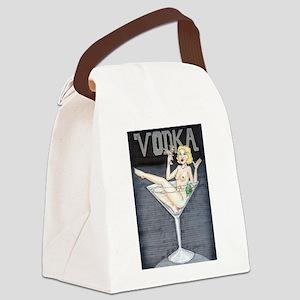 VodkaGirl2 Canvas Lunch Bag