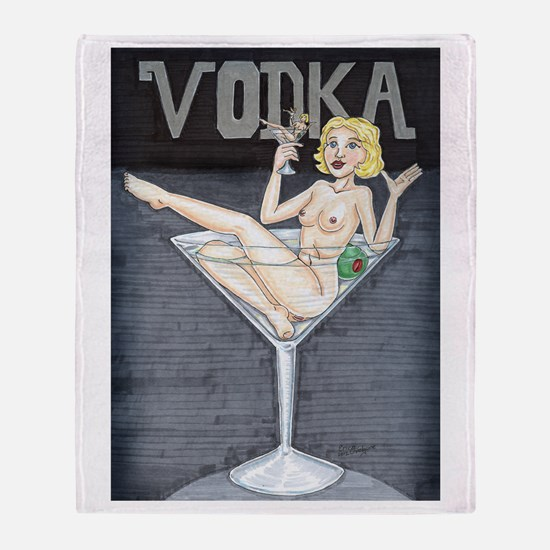 Unique Vodka Throw Blanket