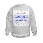 1stAmendmentArea Sweatshirt