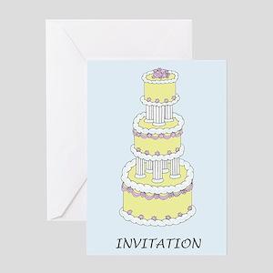 Celebration Invitation, stylish pas Greeting Cards