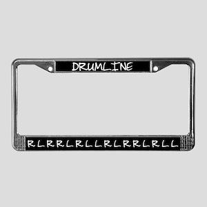 Paradiddle Drumline License Plate Frame