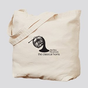 The Classical Horns Tote Bag
