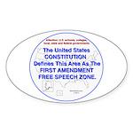 1stamendmentarea Sticker