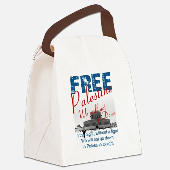 free palestine Canvas Lunch Bag