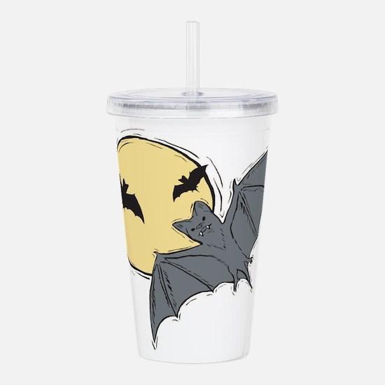 bats.png Acrylic Double-wall Tumbler