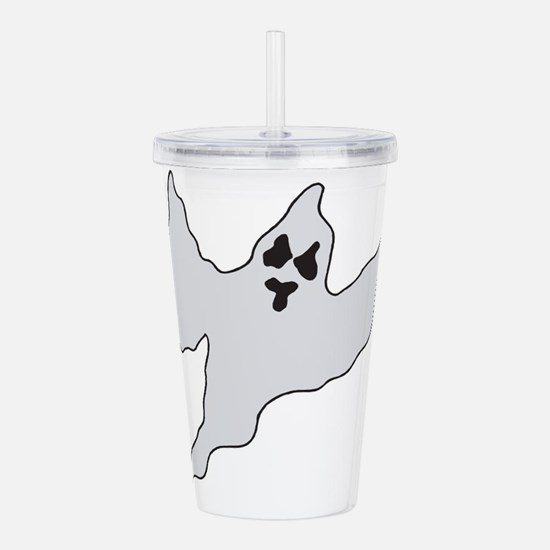 ghost1.png Acrylic Double-wall Tumbler