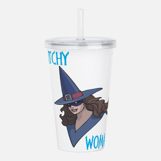 witch,witchy-woman.png Acrylic Double-wall Tumbler