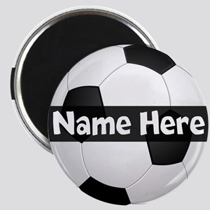 Personalized Soccer Ball Magnets