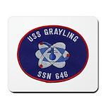 USS GRAYLING Mousepad