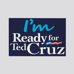 I'm Ready for Ted Cruz Rectangle Magnet