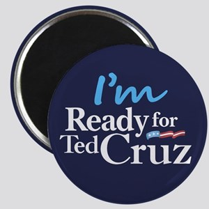 "I'm Ready for Ted Cruz 2.25"" Magnet (10 pack)"